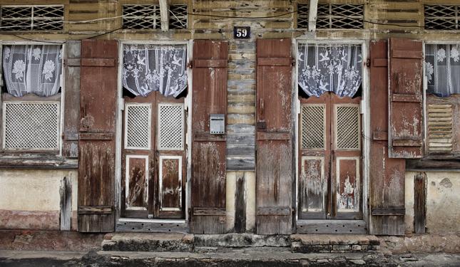 Une très belle façade guyanaise