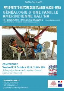 Conférence du patrimoine-Octobre 2017